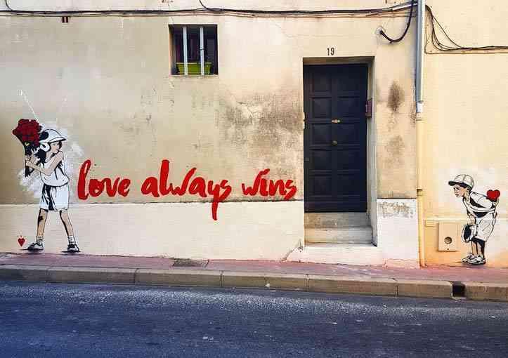 """Love always wins"""